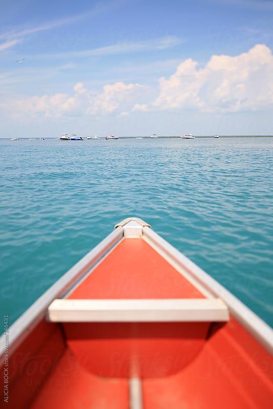 Orange Canoe - Vertical by ALICIA BOCK for Stocksy United