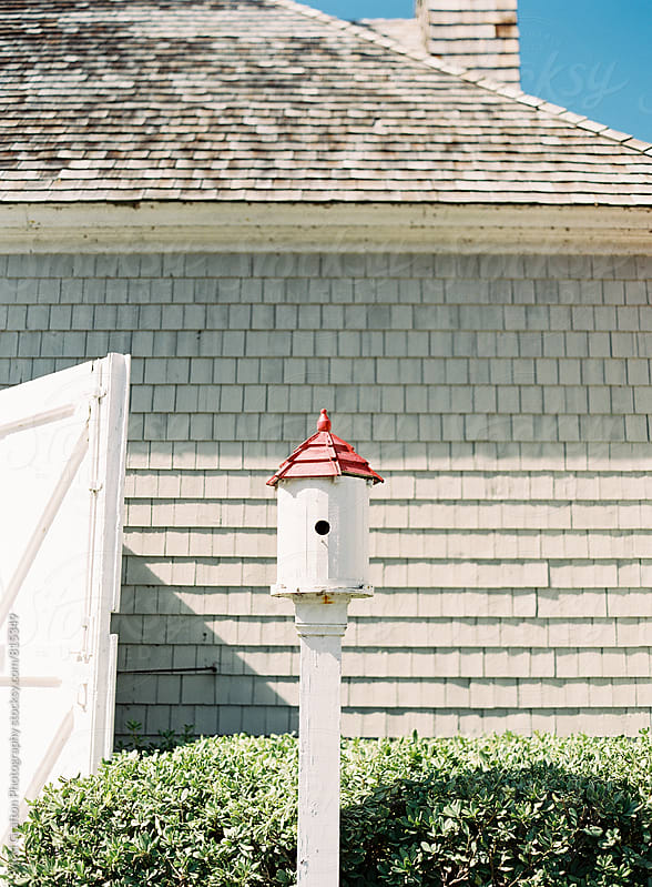 Birdhouse in Duck North Carolina  by Vicki Grafton Photography for Stocksy United