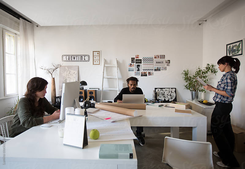 At a Design Studio  by Lumina for Stocksy United