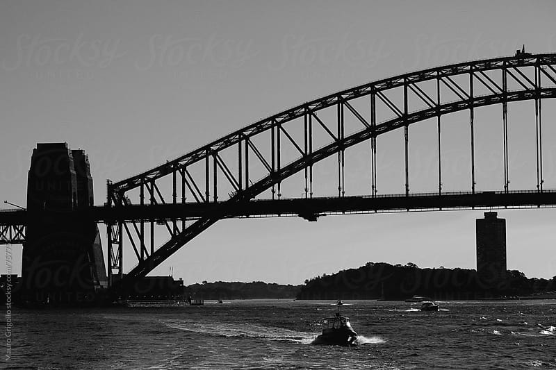 Sydney Harbour Bridge, Australia. by Mauro Grigollo for Stocksy United