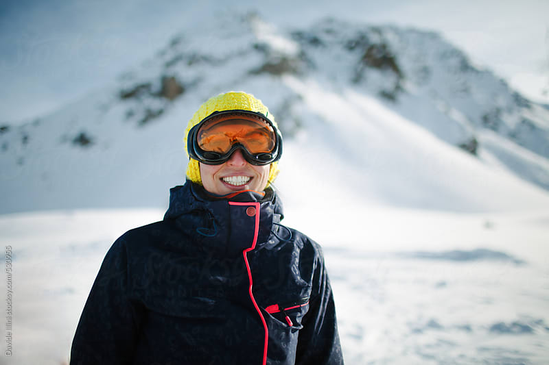 Portrait of a young skier by Davide Illini for Stocksy United
