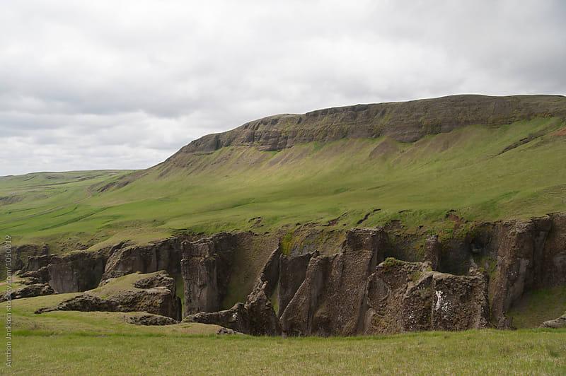 Fjaðrárgljúfur by Anthon Jackson for Stocksy United