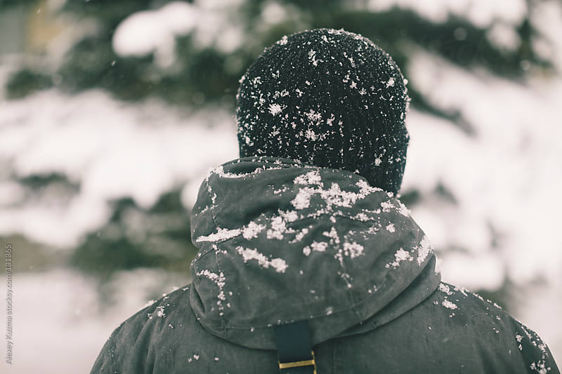 Snowing by Alexey Kuzma for Stocksy United