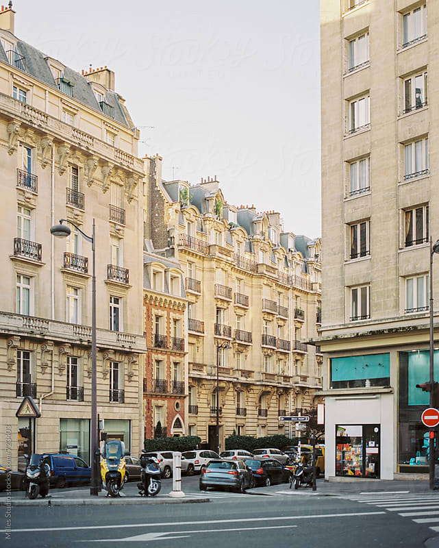 Parisian street by Milles Studio for Stocksy United