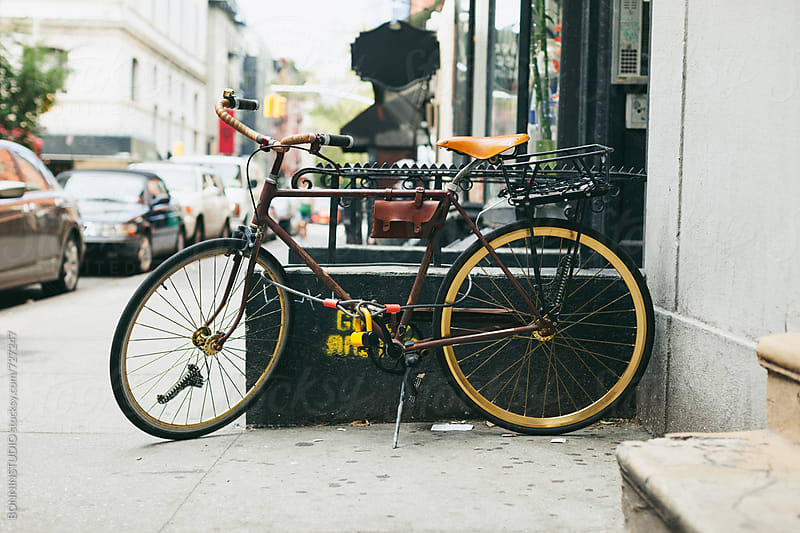 New York bikes. by BONNINSTUDIO for Stocksy United