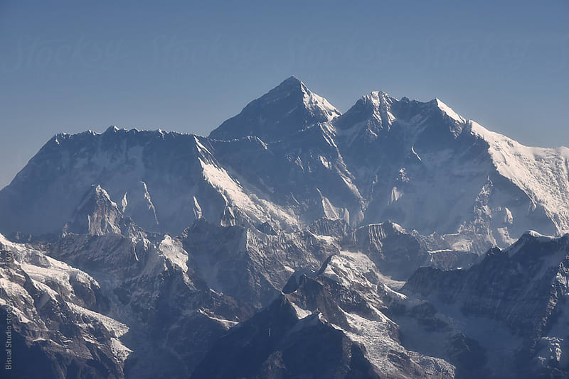 Mount Everest by Bisual Studio for Stocksy United