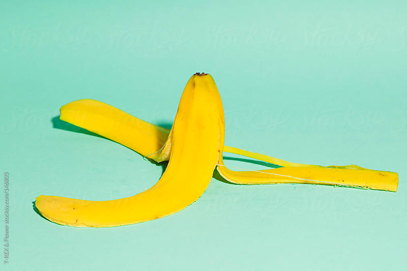 Yellow banana by Danil Nevsky for Stocksy United