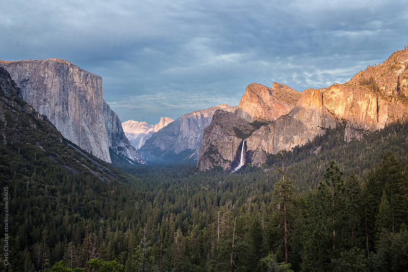 Inspiration Point, Yosemite by Chris Chabot for Stocksy United