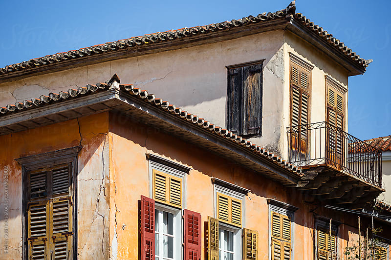 Architecture in Nafplion, Greece by Helen Sotiriadis for Stocksy United