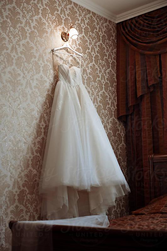 Wedding dress by Sveta SH for Stocksy United