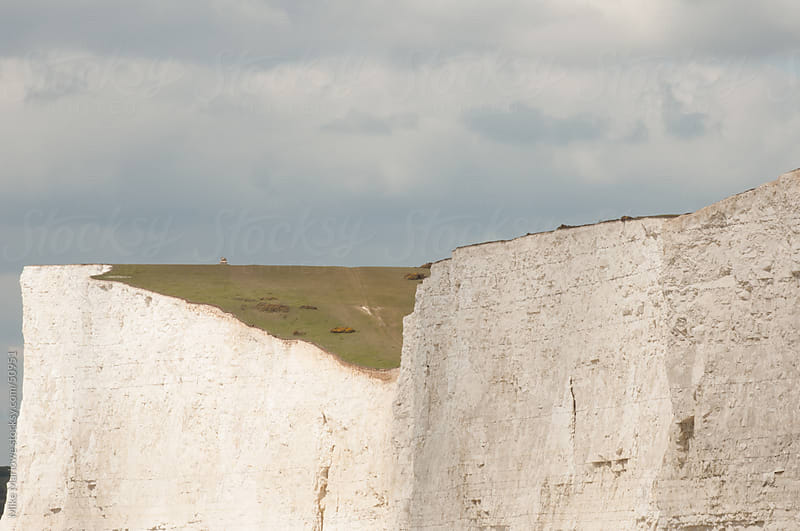 White cliffs in southern England. by Mike Marlowe for Stocksy United