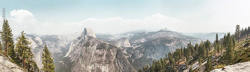 Yosemite Panorama by VISUALSPECTRUM for Stocksy United