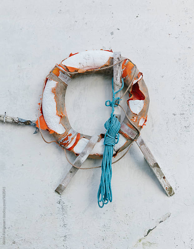 Lifebuoy by Kevin Faingnaert for Stocksy United