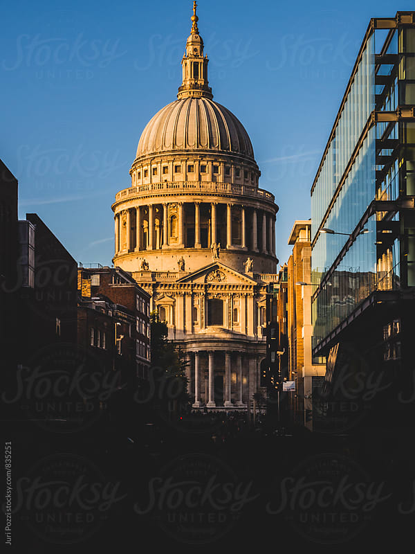 Saint Pauls cathedral in London by Juri Pozzi for Stocksy United