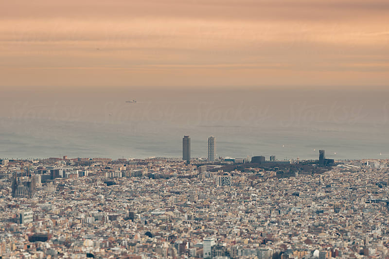 Detail of Barcelona city by Javier Pardina for Stocksy United