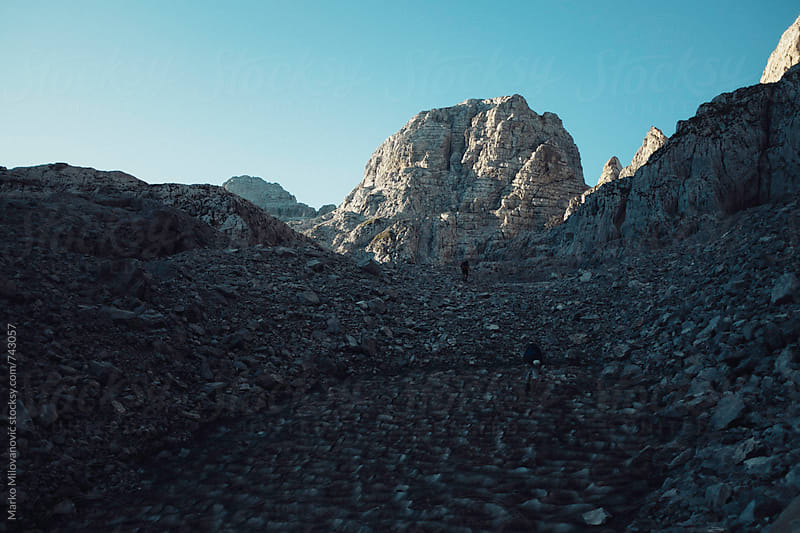 Rocky mountain landscape by Marko Milovanović for Stocksy United