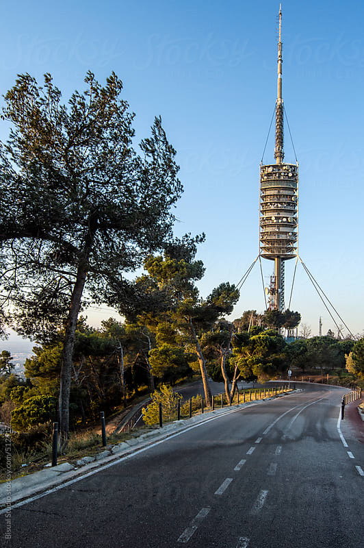 Collserola communications Tower by Bisual Studio for Stocksy United