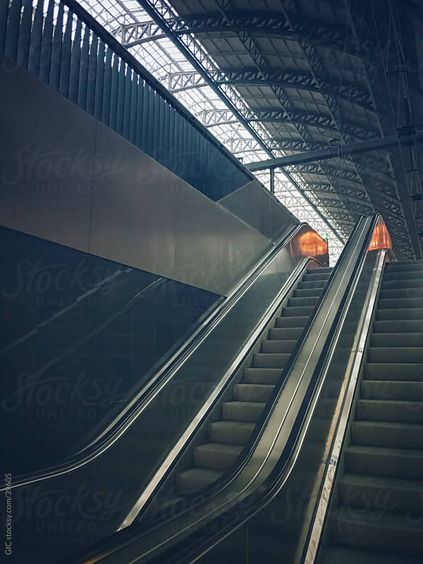 Escalator by Simone Becchetti for Stocksy United