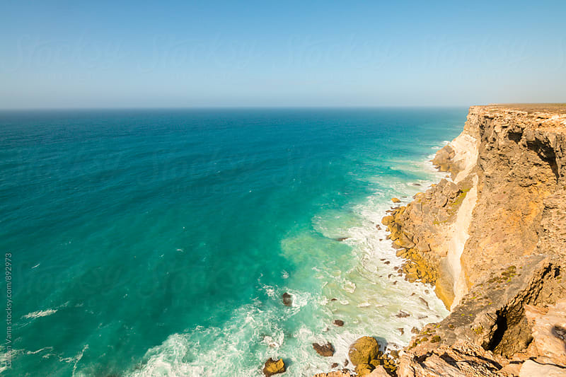 granite cliffs on the  southern coast of Australia, The Great Australian Bight by Gillian Vann for Stocksy United