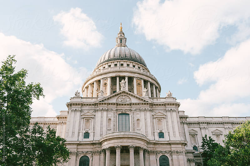 St Pauls Cathedral by Sam Burton for Stocksy United