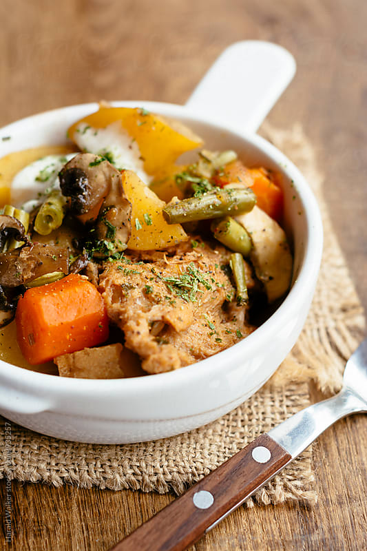 Vegan winter stew by Harald Walker for Stocksy United