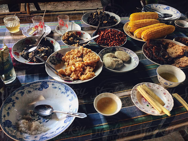 Burmese Countryside Fare by VISUALSPECTRUM for Stocksy United