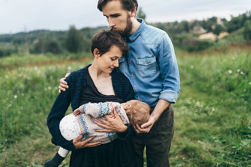 Happy family together  by Evgenij Yulkin for Stocksy United