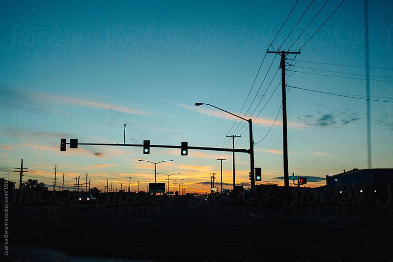 Morning Street Light by Jessica Byrum for Stocksy United