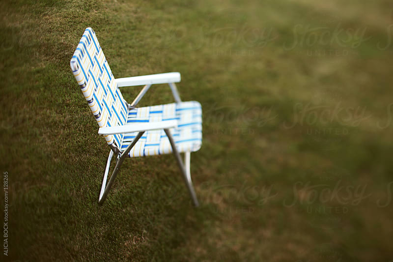 Chair In the Grass by ALICIA BOCK for Stocksy United
