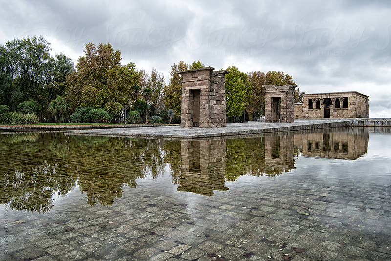 Temple of Debod, Madrid  by Bisual Studio for Stocksy United