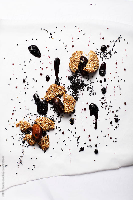 abstract food composition by MEM Studio for Stocksy United