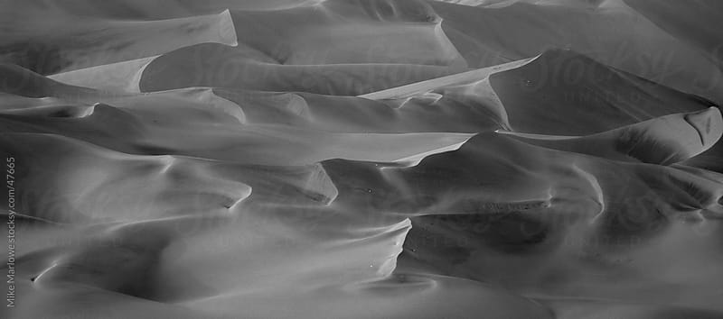 Abstract background shot of sand dunes by Mike Marlowe for Stocksy United