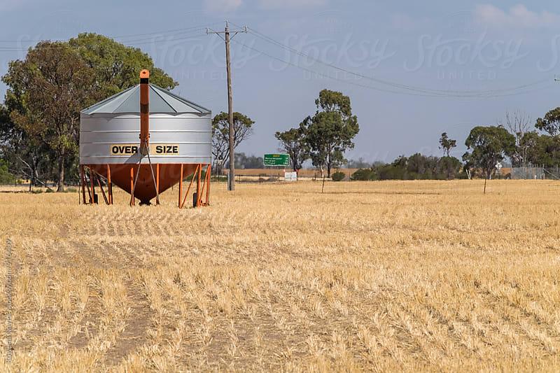 Grain Silos by Rowena Naylor for Stocksy United