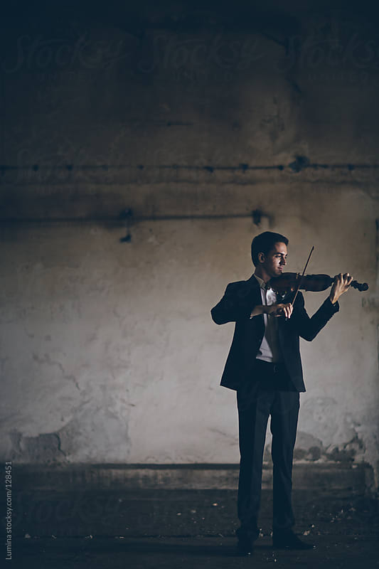 Young Violinist by Lumina for Stocksy United