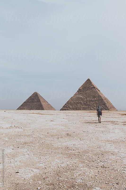 The Giza Pyramids by Luke Gram for Stocksy United