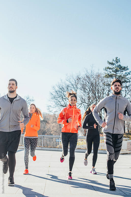 Runners by Studio Firma for Stocksy United