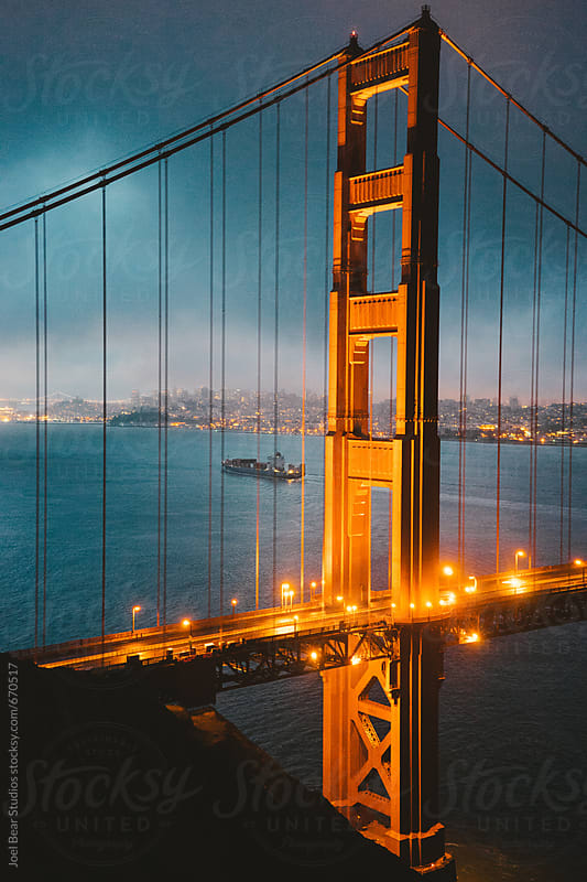 Golden Gate  by Joel Bear Studios for Stocksy United