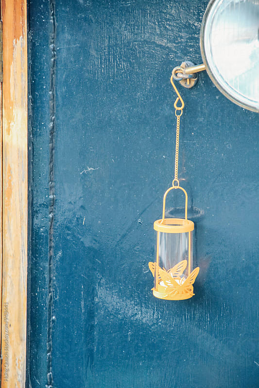 Outdoor Candle Holder by Hung Quach for Stocksy United