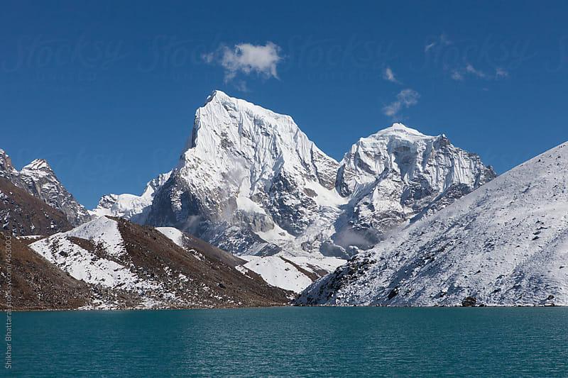 Mt. Cholatse, 6440m, Sagarmatha National Park, Everest Region, Nepal. by Shikhar Bhattarai for Stocksy United