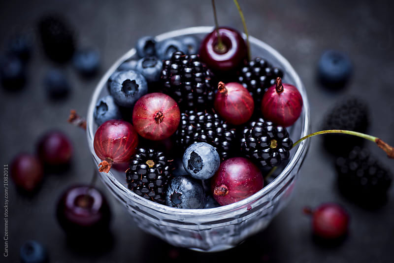 fresh berries by Canan Czemmel for Stocksy United
