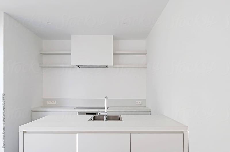 modern kitchen by Koen Van Damme for Stocksy United