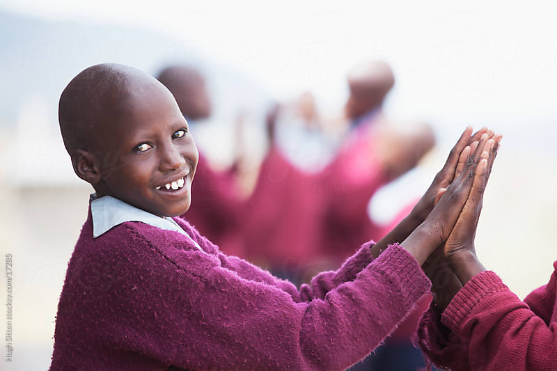 Maasai school children in classroom. Kenya, Africa. by Hugh Sitton for Stocksy United