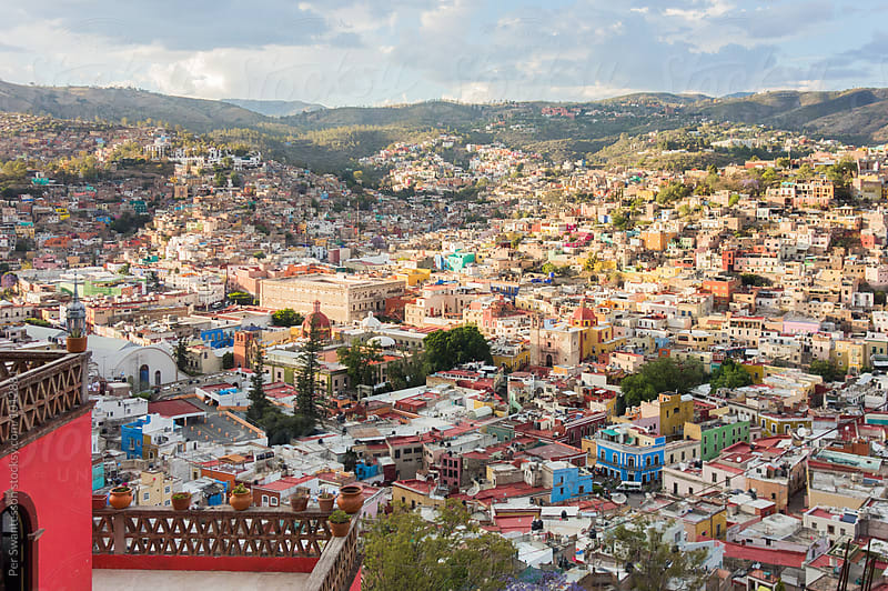Beautiful city of Guanajuato, Mexico by Per Swantesson for Stocksy United