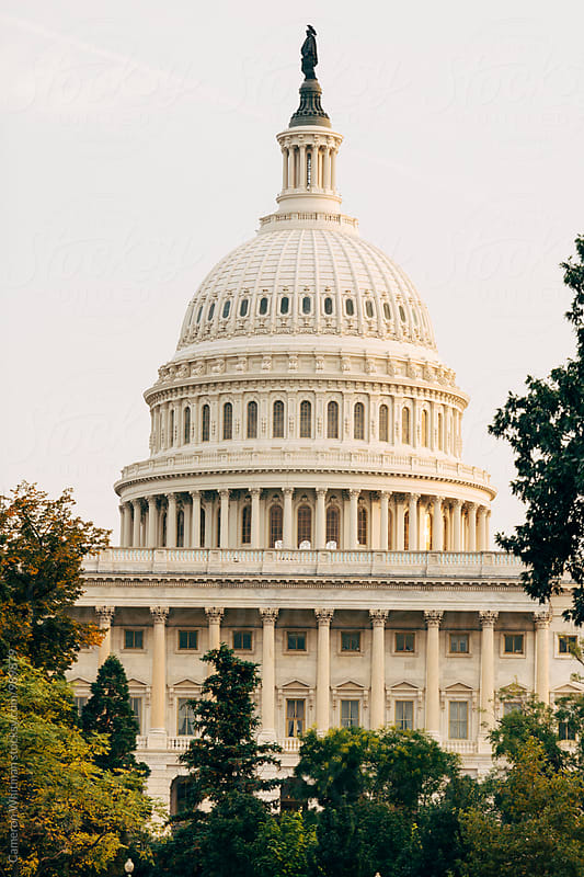 US Capitol by Cameron Whitman for Stocksy United