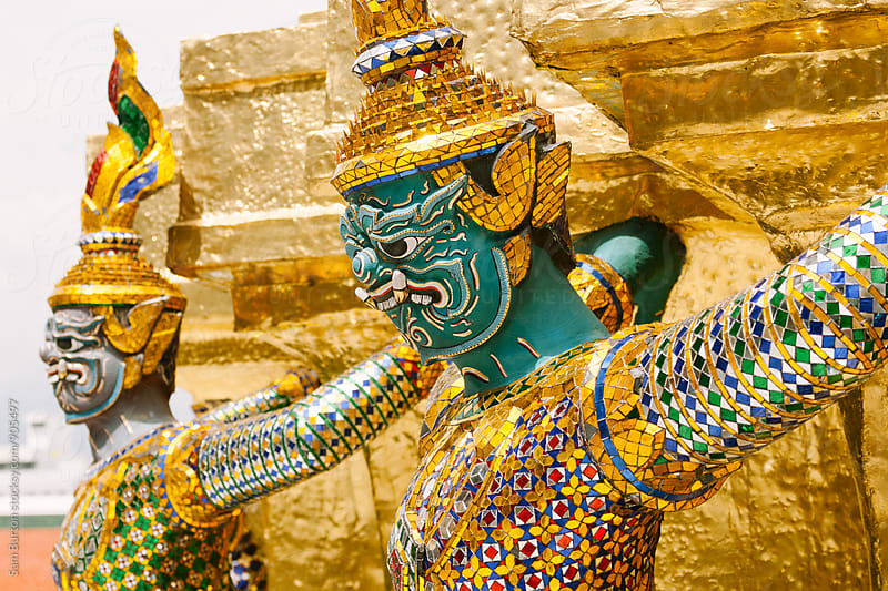 Thai statues by Sam Burton for Stocksy United
