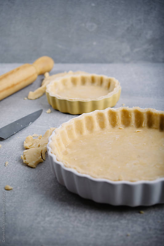 Shortcrust pastry. by Darren Muir for Stocksy United