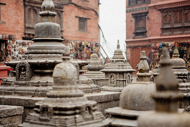 Monkey Temple, Kathmandu, Nepal by Christine Love Hewitt for Stocksy United