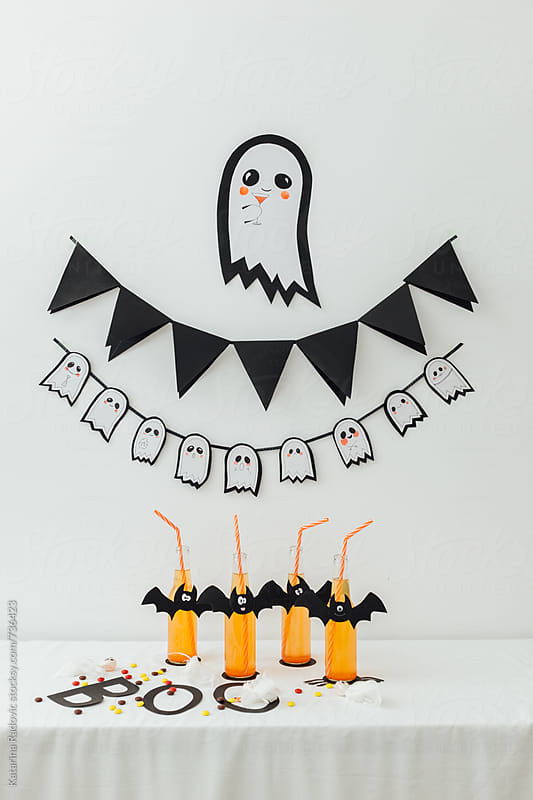 Halloween DIY Party Decoration  by Katarina Radovic for Stocksy United