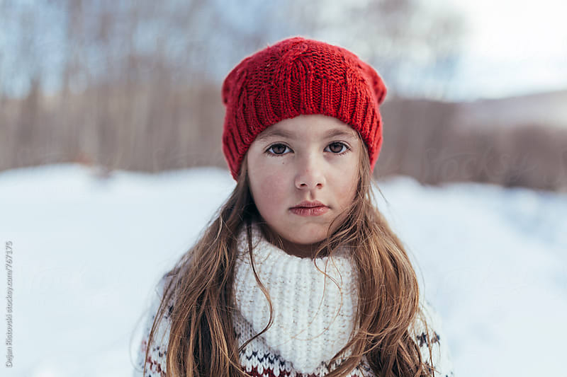 Winter portrait by Dejan Ristovski for Stocksy United
