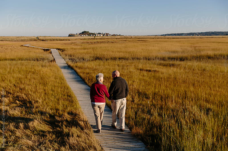 Senior Couple lifestyle by Raymond Forbes LLC for Stocksy United
